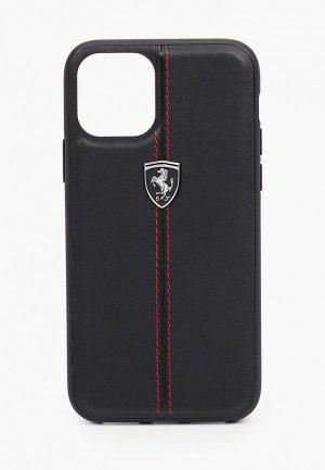 Чехол для iPhone Ferrari 11 Pro. Цвет: черный