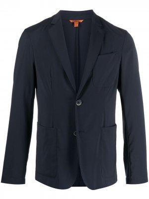 Пиджак с накладными карманами Barena. Цвет: синий
