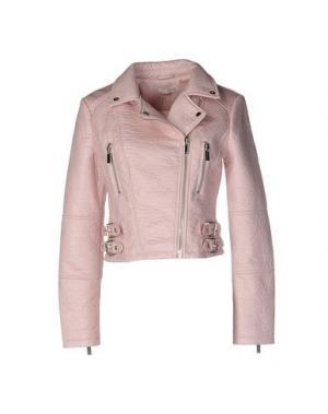 Куртка SUPERTRASH. Цвет: розовый