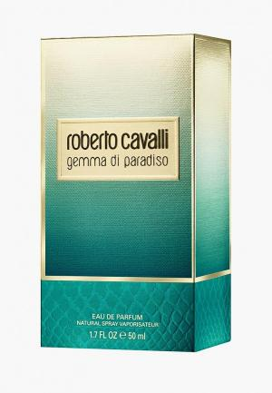 Парфюмерная вода Roberto Cavalli Gemma di Paradiso, 50 мл. Цвет: прозрачный
