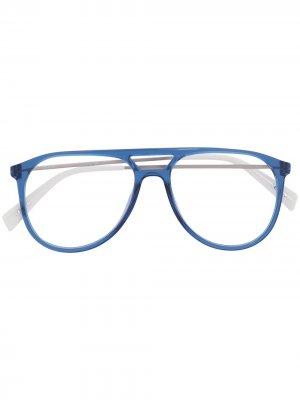 Levis очки-авиаторы Levi's. Цвет: синий