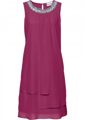 Коктейльное платье класса ПРЕМИУМ bonprix. Цвет: лиловый