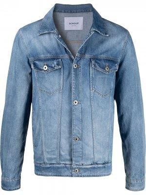 Джинсовая куртка узкого кроя Dondup. Цвет: синий