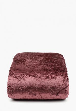 Комплект с покрывалом Sofi De Marko. Цвет: бордовый