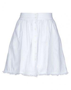 Мини-юбка AMERICAN VINTAGE. Цвет: белый