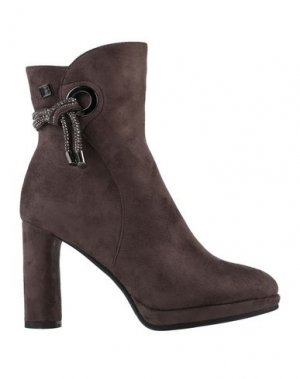 Полусапоги и высокие ботинки LAURA BIAGIOTTI. Цвет: темно-коричневый