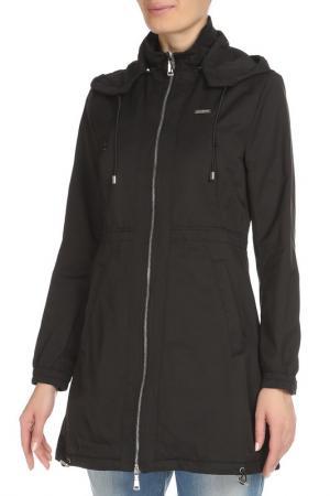 Куртка GF FERRE. Цвет: черный