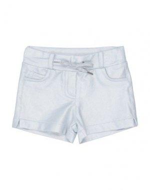 Повседневные шорты ELSY. Цвет: светло-серый