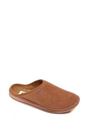 Домашняя обувь Dr.Luigi. Цвет: коричневый