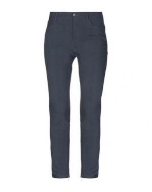Повседневные брюки BOSS HUGO. Цвет: темно-синий