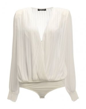 Блузка ALESSANDRO LEGORA. Цвет: белый
