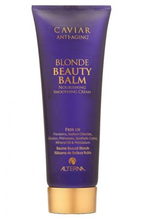 """Крем красоты"" для светлых волос Caviar Anti-Aging Brightening Blonde Beauty Balm 125ml Alterna. Цвет: без цвета"