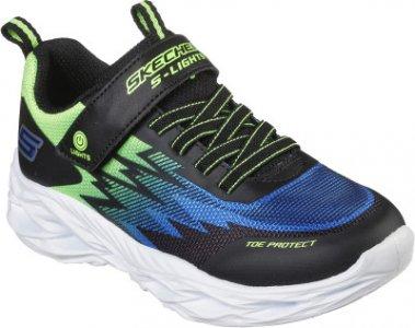 Кроссовки для мальчиков Vortex-Flash, размер 28.5 Skechers. Цвет: черный