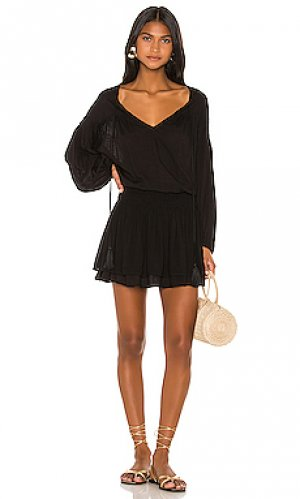Мини платье sashi Indah. Цвет: черный