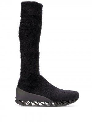 Ботинки-носки Together Himalayan из коллаборации с Camper Bernhard Willhelm. Цвет: черный