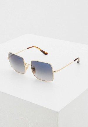 Очки солнцезащитные Ray-Ban® RB1971 914778. Цвет: золотой