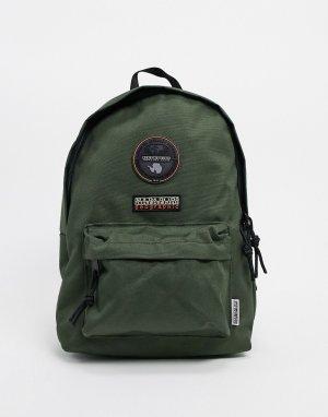Зеленый маленький рюкзак Voyage 2 Napapijri