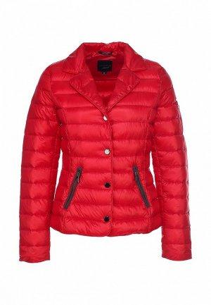 Куртка утепленная Comma CO004EWIW088. Цвет: красный