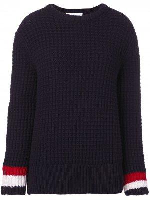Фактурный пуловер с круглым вырезом Thom Browne