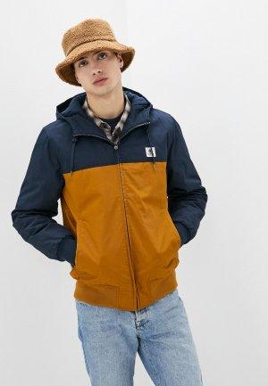 Куртка утепленная Element DULCEY TWO TONES. Цвет: коричневый