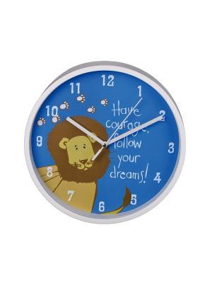 Настенные часы Lion H-123170 HAMA. Цвет: синий