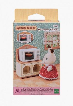 Набор игровой Sylvanian Families Шкаф с микроволновой печью. Цвет: разноцветный