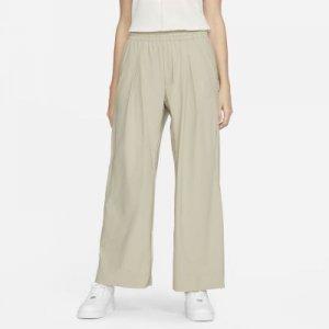 Женские зауженные укороченные брюки ESC - Коричневый Nike