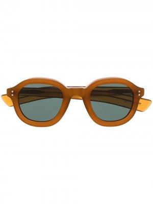 Солнцезащитные очки Largo Lesca. Цвет: коричневый