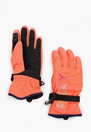 Перчатки горнолыжные Roxy FRESHFIELD GIRL G GLOV. Цвет: оранжевый