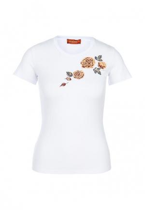 Футболка Анна Чапман. Цвет: белый