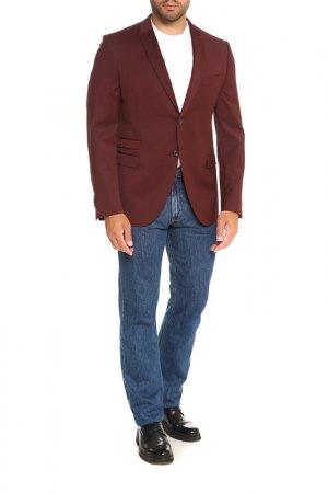 Пиджак Cinque. Цвет: бордовый