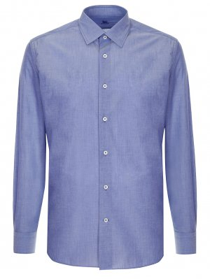 Рубашка хлопковая custom fit COLOMBO