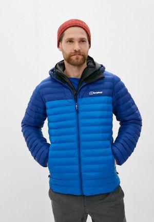 Куртка утепленная Berghaus VASKYE SYN IN JKT. Цвет: синий
