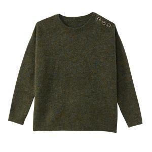 Пуловер с люверсами на плече BEST MOUNTAIN