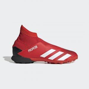 Футбольные бутсы Predator 20.3 TF Performance adidas. Цвет: красный