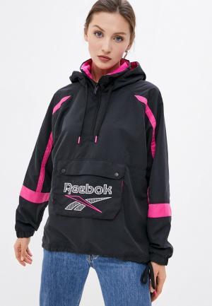 Ветровка Reebok Classic CL D ANORAK. Цвет: черный