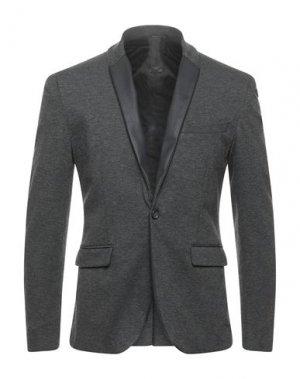 Пиджак I'M BRIAN. Цвет: свинцово-серый