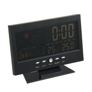 Часы-будильник luazon lb-15, работает о батареек 2 ааа не в комплекте Home