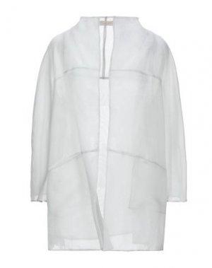 Легкое пальто BOTONDI COUTURE. Цвет: светло-серый