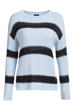 Пуловер Apart. Цвет: голубой