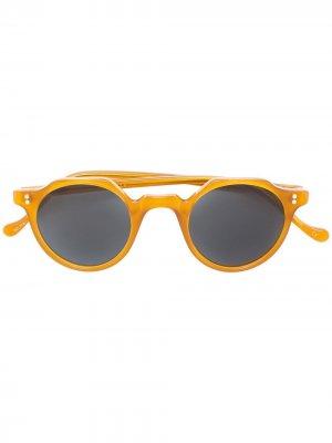 Солнцезащитные очки Heri Lesca. Цвет: желтый