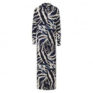 Платье из вискозы Lenny Niemeyer. Цвет: разноцветный