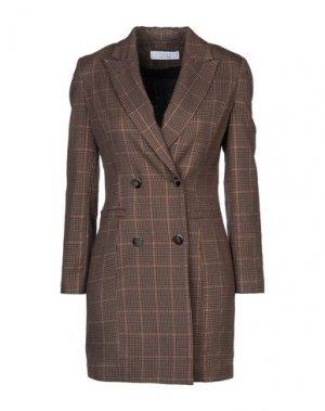 Легкое пальто KAOS. Цвет: хаки
