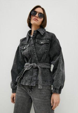 Куртка джинсовая Ba&Sh. Цвет: серый