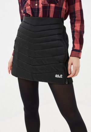 Юбка Jack Wolfskin ATMOSPHERE SKIRT WOMEN. Цвет: черный
