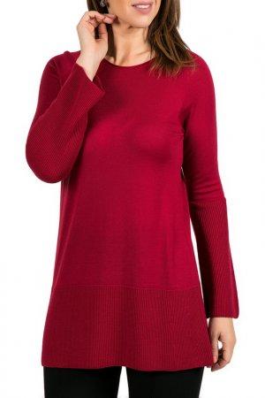 Пуловер SHES SO SHE'S. Цвет: бордовый