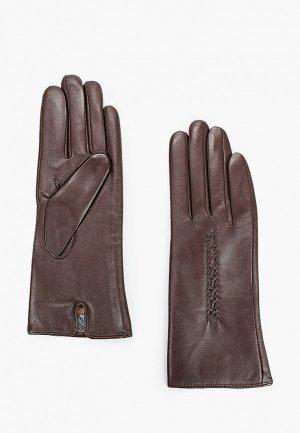 Перчатки Lantana. Цвет: коричневый