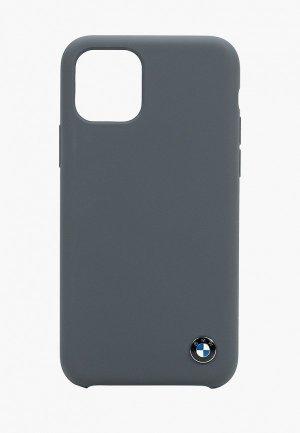 Чехол для iPhone BMW 11 Pro. Цвет: серый