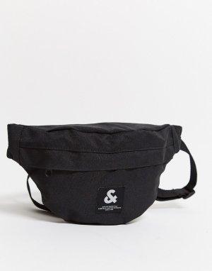 Сумка-кошелек на пояс -Черный цвет Jack & Jones