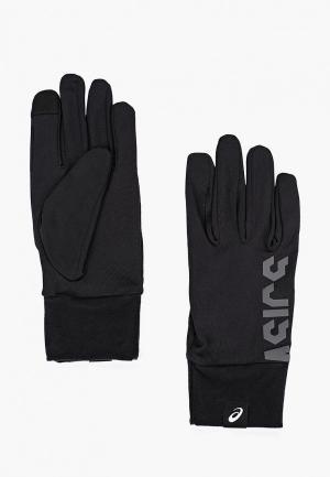 Перчатки ASICS BASIC GLOVES. Цвет: черный